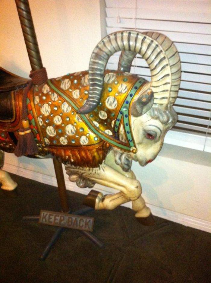 Looff Ram From Redondo Beach Ca Antiquecarousels Com