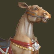 1914_Dentzel_Donkey-bust-2