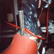 Chocolate_Dentzel_jumper-saddle-pole