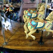 Classic_W.F.Mangels_Kiddie_Carousel-horse-row