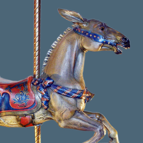 House-on-the-rock-rare-Dentzel-carousel-mule
