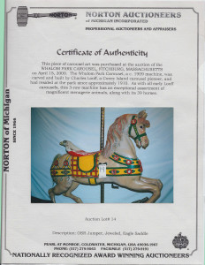 Looff_Whalom_certificate_of_authenticity