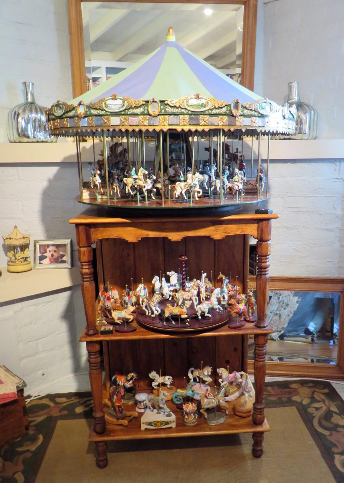 Museum Quality Miniature – SOLD   AntiqueCarousels.com
