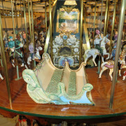 Miniature-carousel-museum-quality-chariot