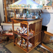 Miniature-carousel-museum-quality-hand-crafted-UK