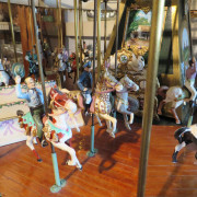 Miniature-carousel-museum-quality-horses