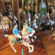 Miniature-carousel-museum-quality-riders