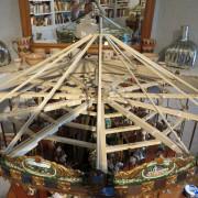 Miniature-carousel-museum-quality-top-mechanism