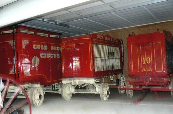 1920s Antique Circus Wagons Sold Antiquecarousels Com