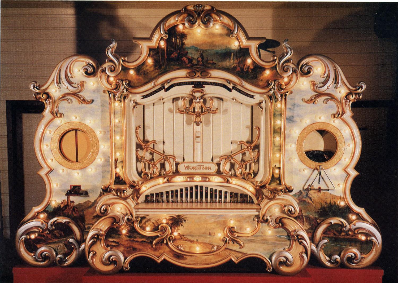 Wurlitzer 165 Band Organ Sold Antiquecarousels Com
