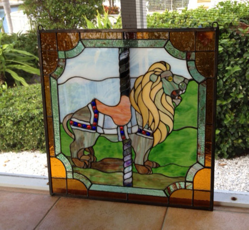 stained-glass-carousel-lion2