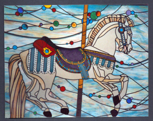 stained_glass_carousel_horse