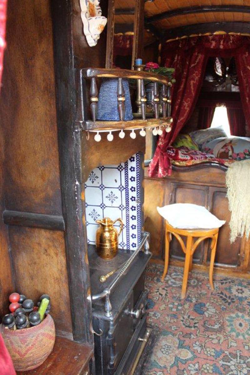 unrestored original 1898 t  tong gypsy wagon  u2013 sold