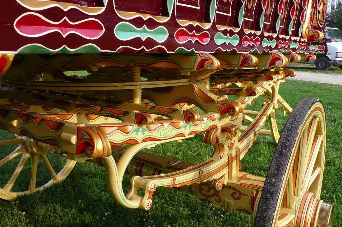 1902 Hearst Family Estate Gypsy Wagon – SOLD