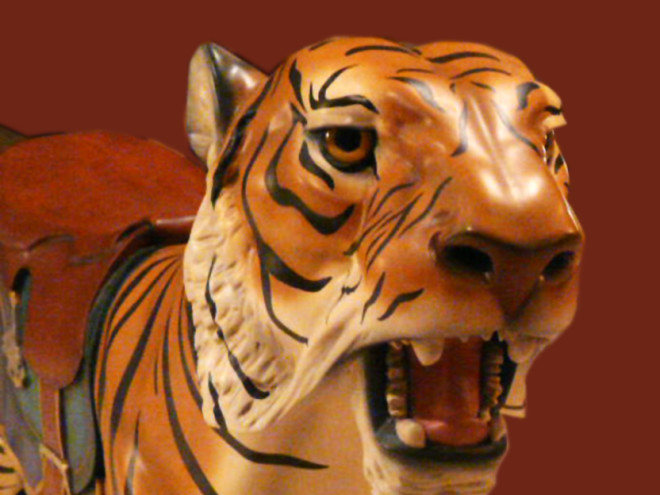 Dentzel-tiger-bust red