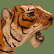 Dentzel-tiger-head grn