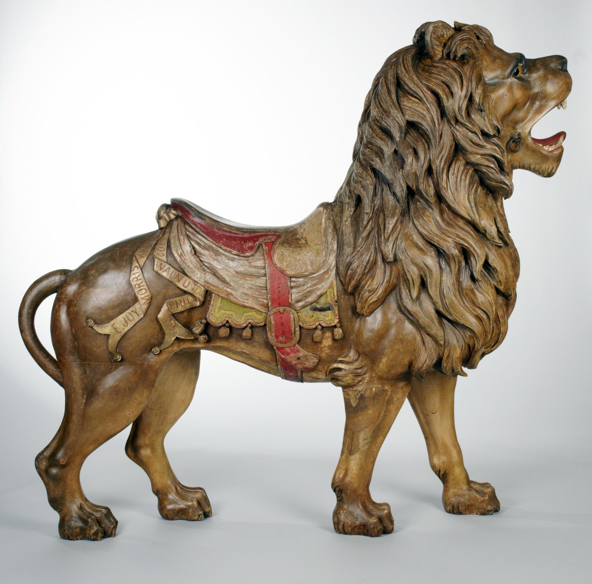 e joy morris signature lion  u2013 lakemont park  u2013 sold