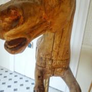 Circa 1900 Bayol Carousel Horse Sold Antiquecarousels Com