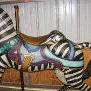 Antique-Dentzel-carousel-zebra-nonrom-trappings