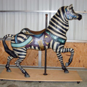 Antique-Dentzel-carousel-zebra-romance