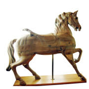 Dentzel-antique-carousel-horse-stripped-romance