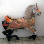 1916-Looff-armored-carousel-horse