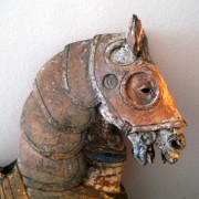 1916-Looff-armored-horse-head