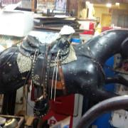 1950-Royal-Mustang-all-wood-coin-op-kiddie-horse