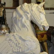 Ca-1900-Dentzel-Pegasus-Lead-Horse-bust3