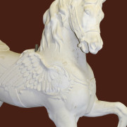 Ca-1900-Dentzel-Pegasus-Lead-Horse-bust4