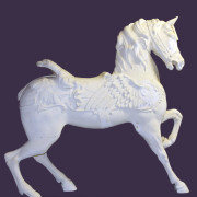 Ca-1900-Dentzel-Pegasus-lead-carousel-horse-romance