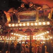Miniature-Looff-style-carousel-rounding-board-art