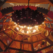 Miniature-Looff-style-carousel-top-view