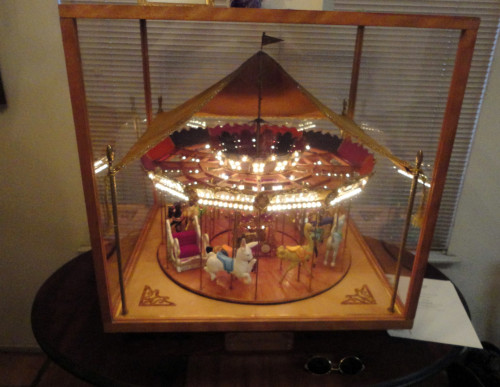 Miniature-Looff-style-carousel-with-lights