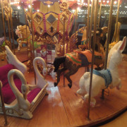 One-of-a-kind-working-miniature-carousel-figures
