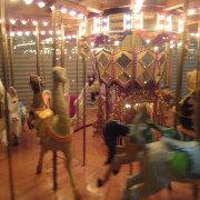 One-of-a-kind-working-miniature-carousel-figures-motion
