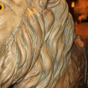 ca-1905-Dentzel-carousel-lion-detail