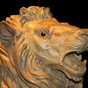 ca-1905-Dentzel-carousel-lion-head