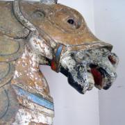 ca-1916-Santa-Monica-Looff-carousel-armored-horse