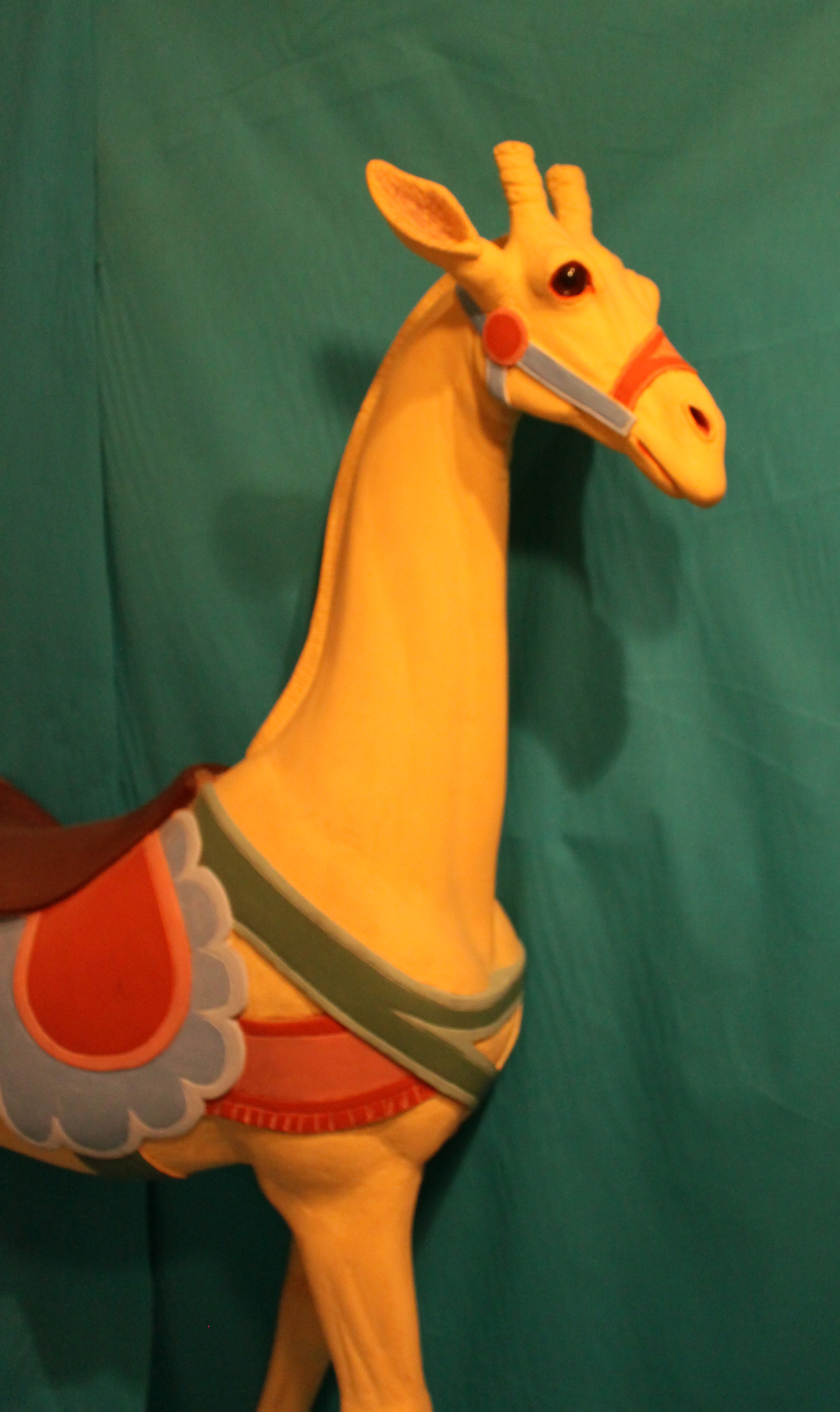 1890s Looff Giraffe From Spanaway Park Sold