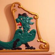 Herschell-Spillman-dragon-chariot-front