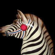 Ca-1910-Dentzel-zebra-nonrom-head