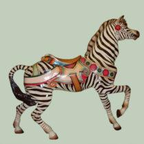 Ca-1910-Dentzel-zebra-romance