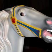 Ca-1917-H-S-flowered-carousel-horse-head