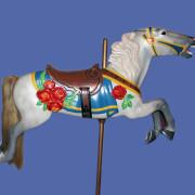 Ca-1917-Herschell-Spillman-flowered-antique-carousel-horse