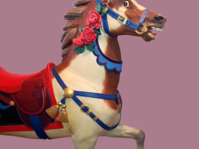 1910-Muller-rose-pony-carousel-horse-bust
