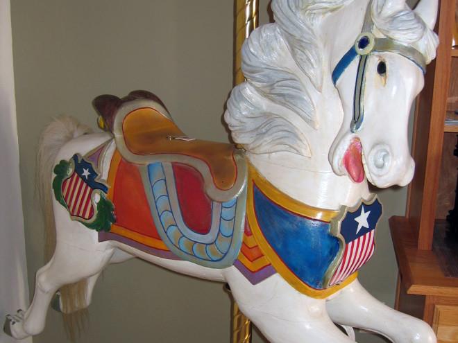 C-W-Parker-Abiline-Patriotic-carousel-horse-romance
