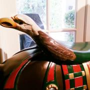 Ca-1900-Looff-carousel-horse-high-eagle-back-saddle