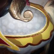 Crescent-Park-Looff-carousel-horse-original-paint-detail-2