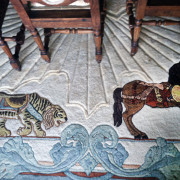 Marianne-Stevens-Collection-custom-carousel-rug-sneaky-tiger